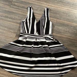 Black & White Charlotte Russe Dress
